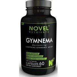 Novel Nutrients MESHASHRINGI (Gymnema) 300mg Capsules (60) - Diabetic support