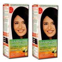 Garnier Color Naturals Natural Black - Shade 1 (Pack of 2)