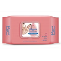 Johnson's Baby Skincare Wipes (80 Wipes)