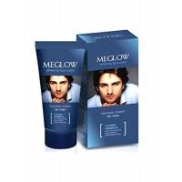 Leeford Healthcare's Meglow Whitening Face Cream for Men; Combo of 6 Packs of 50g each