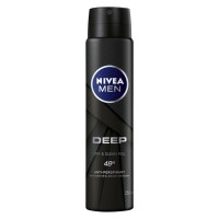 Nivea Men Deep Impact Freshness Deodorant Black Carbon 150ml