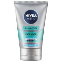 Nivea Men Oil Control Face Wash (10X whitening), 100gm