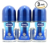 Nivea for Men Cool Kick Deodorant Roll-On Travel Size 25ml by Nivea