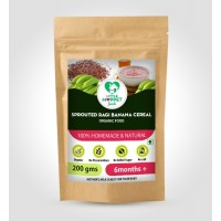 Sprouted Ragi Banana Cereal 200 gm