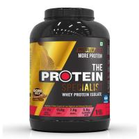 The Protein Specialist | Whey Protein Isolate | Premium Gold | Highest Protein Content | 1kg (More Milk Chocolate)