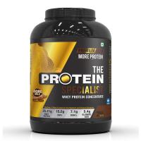 The Protein Specialist | Whey Protein Concentrate | Premium Gold | Highest Protein Content | 2Kg/4.4lb(More Milk Chocolate)