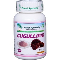 Planet Ayurveda's Guggullipid Capsules (60)