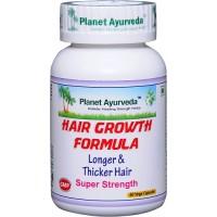 Planet Ayurveda's Hair Growth Formula Capsules (60)