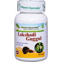 Planet Ayurveda's Lakshadi Guggul Pills (120) - Bone Health
