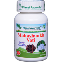 Planet Ayurveda's Mahashankh Vati Pills (120) - Gas, Acidity, Indigestion