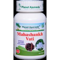Planet Ayurveda's Mahashankh Vati Pills (120) - Gas, Acidity, Indigestion