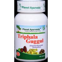 Planet Ayurveda's Triphala Guggul Pills (120) - Detox, Cholesterol