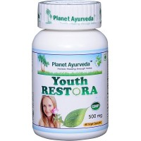 Planet Ayurveda's Youth Restora Capsules (60)