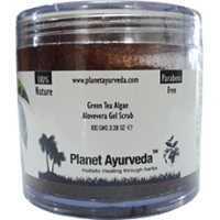 Planet Ayurveda's Green Tea Algae Aloe-vera Gel Scrub