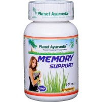 Planet Ayurveda's Memory Support Capsules (60)