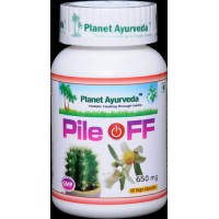 Planet Ayurveda's Pile Off Capsules (60)