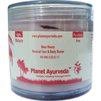 Planet Ayurveda's Rose Honey, Natural Face & Body Butter 100 gm