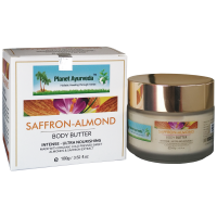 Planet Ayurveda SAFFRON-ALMOND Body Butter 100gm