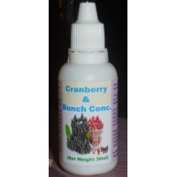 ​Hawaiian Herbal Cranberry And Buchu Conc Drops, HAWAII, USA - 30 ML