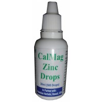 HAWAIIAN HERBAL CAL MAG ZINC DROPS , HAWAII, USA - 30 ML