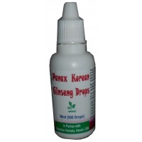 HAWAIAN HERBAL PANAX KOREAN GINSENG DROPS , HAWAII, USA - 30 ML